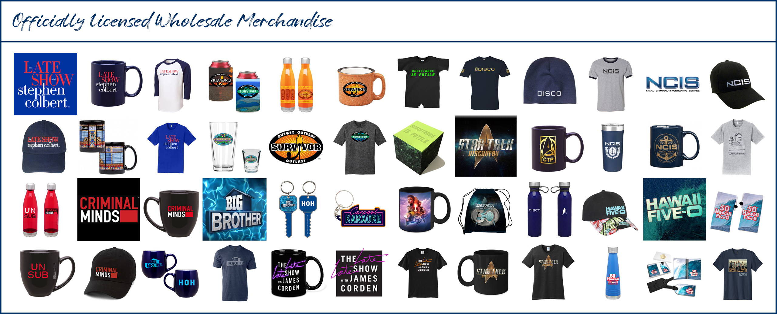 LICENSED MERCHANDISE